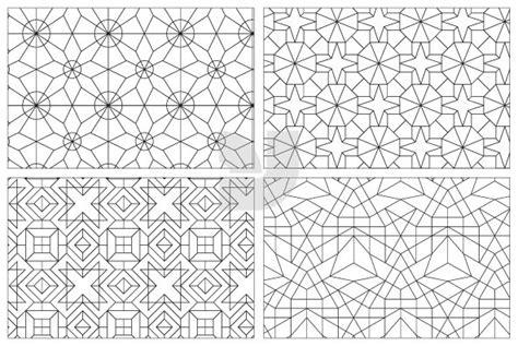 japanese line pattern japanese geometric patterns