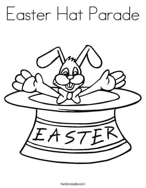 coloring pages easter bonnet parade coloring book pages coloring pages