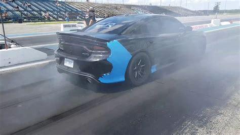 Hellcat Charger Vs Tesla by Cjr Hellcat Charger Vs Lotus Evora With Tesla Engine