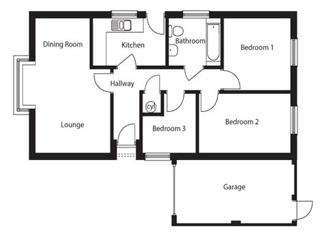 3 bedroom bungalow floor plan images of 3 bedroom bungalow floor plans in nairobi joy