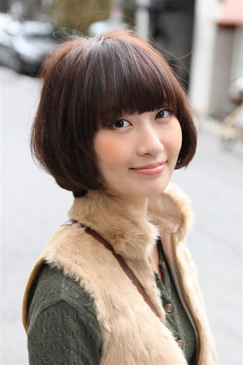 cute asian bob hairstyle  hairstyles weekly
