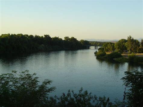 red bluff ca view   sacramento river  main