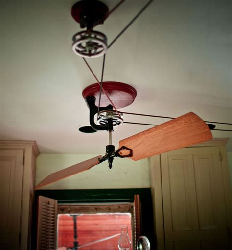 belt ceiling fan system woolen mills belt pulley fans gear patrol