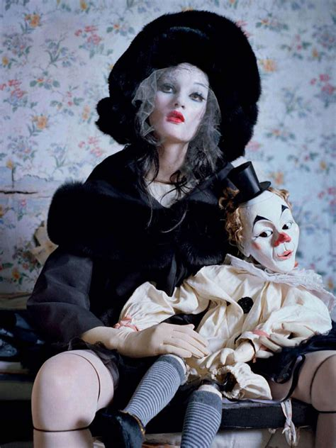 hindi composition on doll mechanical dolls by tim walker for vogue italia october