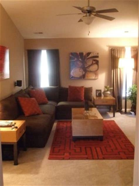 brown red and orange home decor 1000 ideas about living room brown on pinterest brown