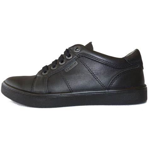 school shoes for black ricosta boys black leather school shoes ricosta