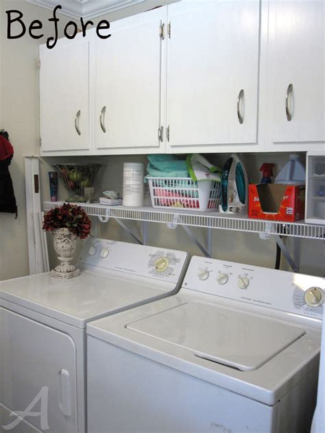 Getting Organized The Laundry Room Tips And Tricks Organizing Laundry Room Cabinets