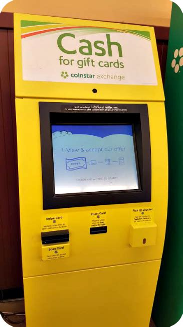 Coinstar Gift Card Kiosk - sell unwanted gift cards for cash with coinstar exchange the denver housewife