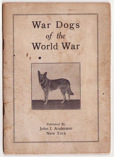 liberty dogs of world war ii books war dogs of the world war phlet k 9 cross 1919