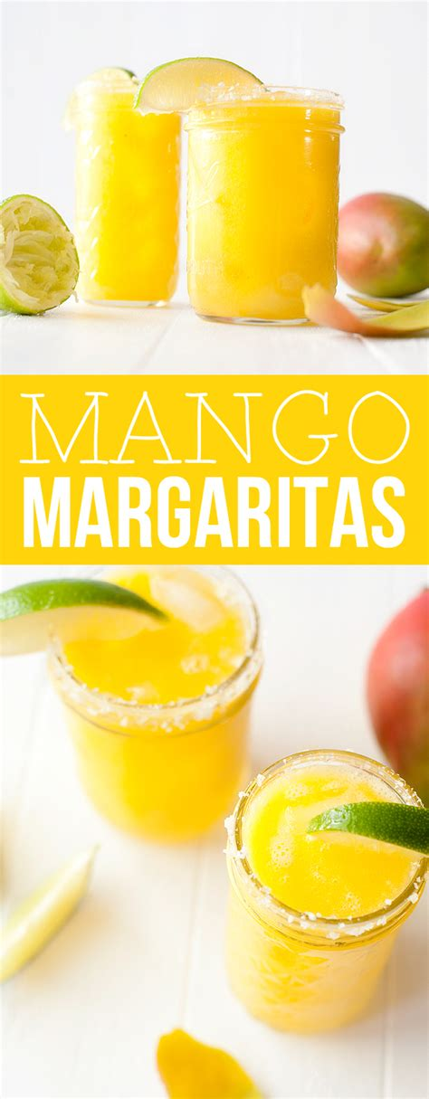 mango margarita rocks mango margaritas recipe dishmaps