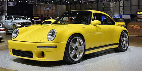 is ruf a porsche the 2017 ruf ctr is a brand new car with classic style and