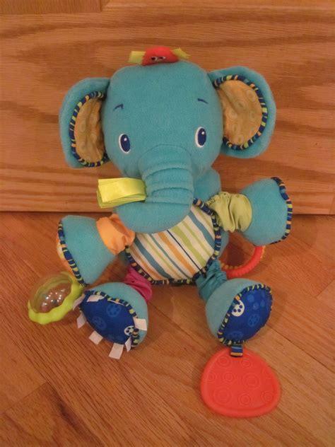 Bright Starts Bunch O Elephant T2909 4 bright starts bunch o plush multi color activity