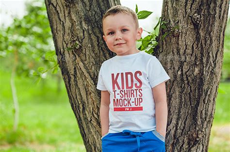 kids  shirt mock  vol   freemanstudio graphicriver
