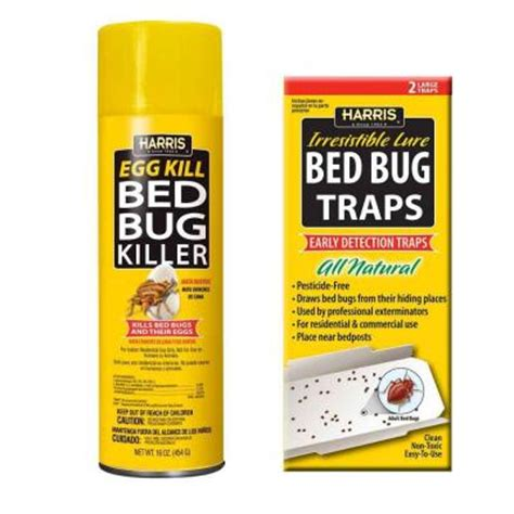 harris bed bug traps harris 16 oz egg kill and bed bug trap value pack egg