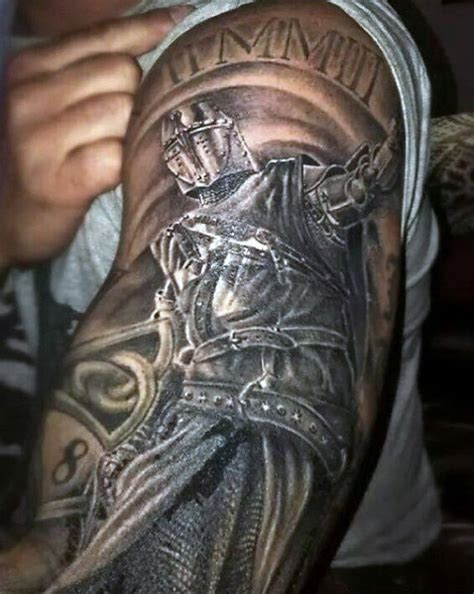 knight and dragon tattoo designs top 80 best designs for brave ideas