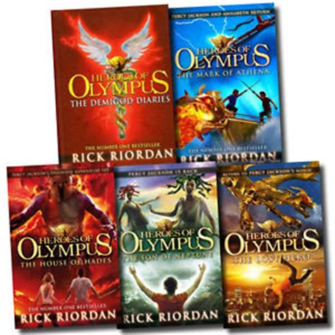 sales on heroes book 2 books heroes of olympus collection rick riordan 5 books set