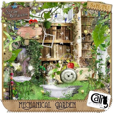 s scrap creations mechanical garden by cali designs