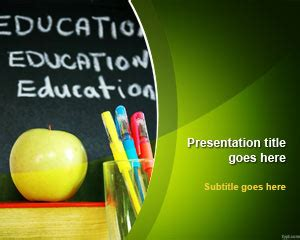Free Education Powerpoint Presentation Templates School Powerpoint Template