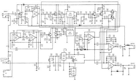 arion sch 1 stereo chorus pedal schematic diagram