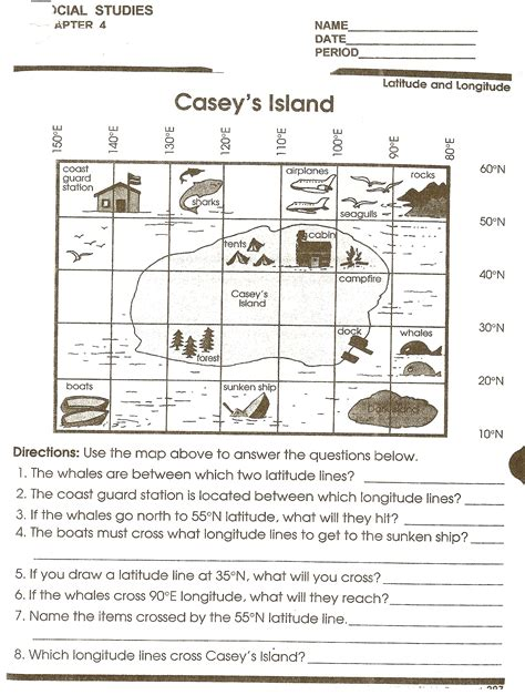 Map Skills Worksheets by Worksheets Reading A Map Worksheet Opossumsoft