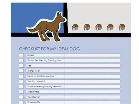 puppy list new puppy checklist new checklist