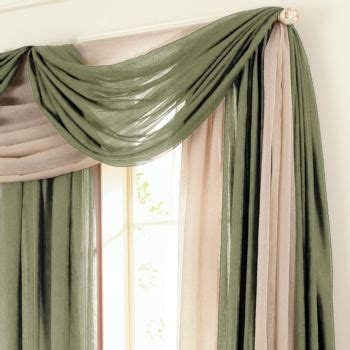 curtains for 3 windows in a row 12 best images about ways to hang a scarf valance on