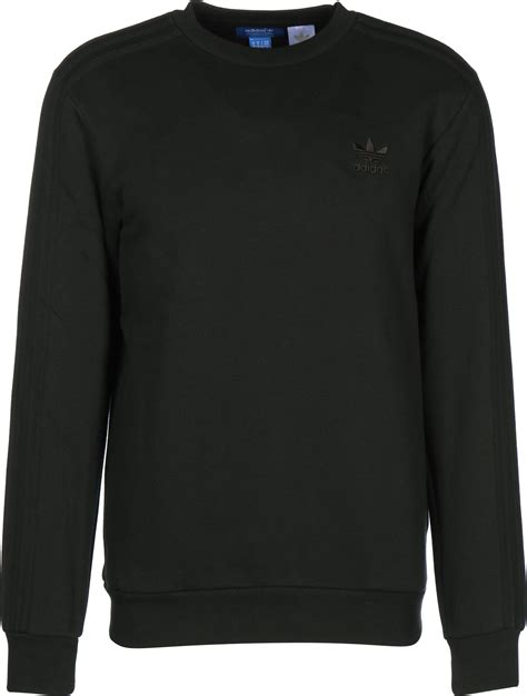 Sweater Black Addidas Basic adidas trf series crew sweater black