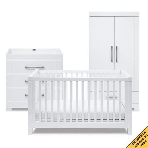 Silver Cross Nursery Furniture Sets Silver Cross Notting Hill Nursery Furniture Set