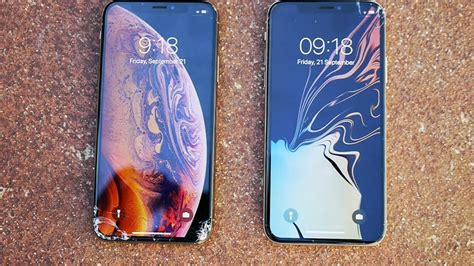 iphone xs vs iphone x drop test is it really stronger