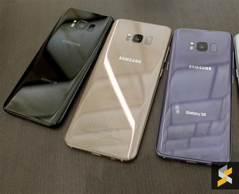 Samsung S8 Black Gold Orchid Grey samsung galaxy s8 malaysia pre order here s all you need to soyacincau