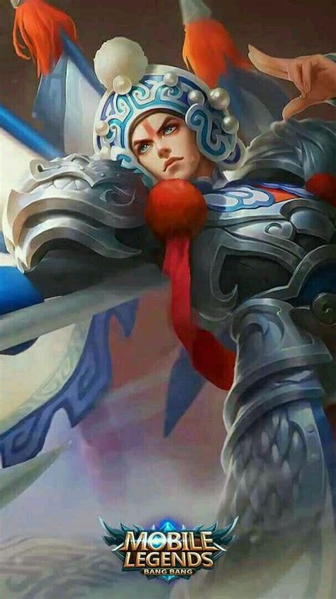zilongchangbanpo commander mobile legend wallpaper