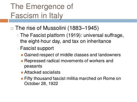 chapter 28 section 3 fascism in italy his 122 ch 28 the second world war part 1