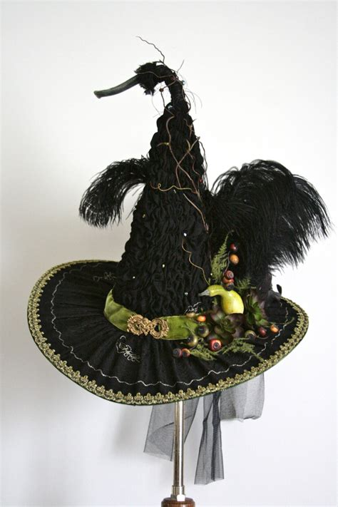 Handmade Witch Hat - handmade witch hat by studio sisu ruched in