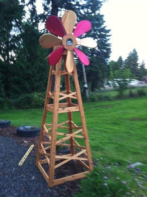 Handmade Windmill - windmill by david hacke lumberjocks woodworking