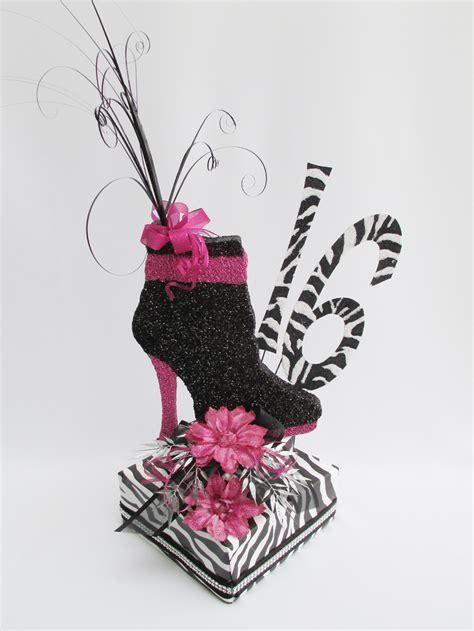 Decorating Ideas Zebra Print Birthday Zebra Sweet 16 Centerpiece Designs By Ginny