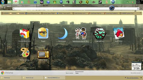 themes chrome games fallout 3 google chrome theme by bader13 on deviantart