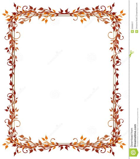 Kreditkarten Design Vorlagen Bl 228 Tter Herbst Rahmen Lizenzfreie Stockfotografie Bild 33936517