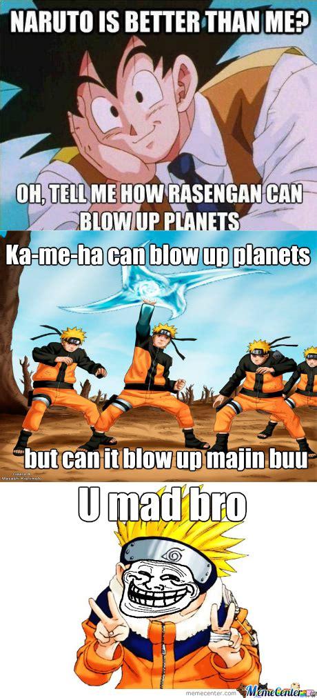 Naruto Vs Goku Meme - pics for gt goku naruto meme