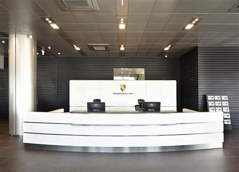 porsche showroom steven leach group porsche center ilsan showroom