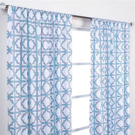 geometric pattern curtain panels softline home fashions tribeca gun metal curtains