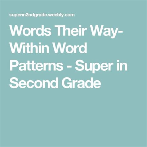 words their way word study for phonics vocabulary and spelling 6th edition words their way series 17 best images about words their way on busy