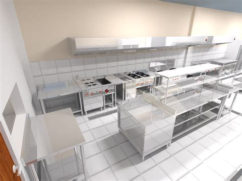 desain dapur restoran sederhana trijaya kitchen sarana cv desain dapur restoran