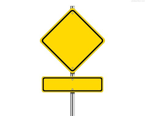 road sign templates clipart best