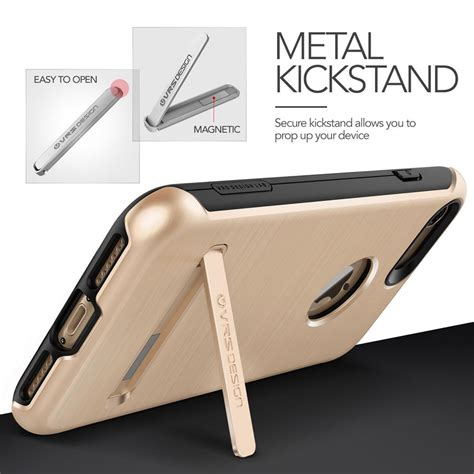 Verus Kickstand Iphone 7 Gold verus duo guard skal till apple iphone 8 7 gold themobilestore