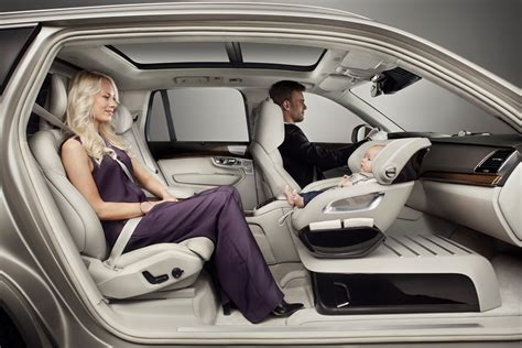 volvo cars adds   luxury  excellence child safety seat concept volvo car usa newsroom