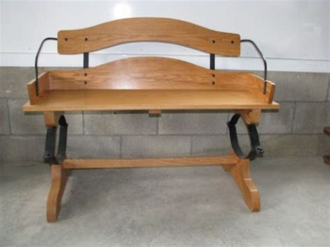 oak buggy wagon buckboard bench seat