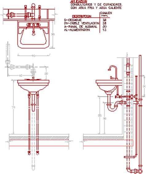 Plano Plumbing Supply by Instalaci 243 N De Artefactos Sanitarios Archives P 225 3