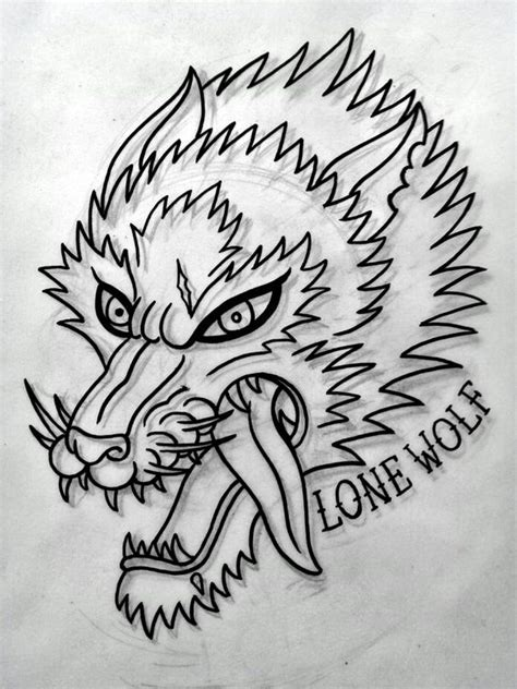tattoo flash wolf traditional wolf tattoo flash done by me my works