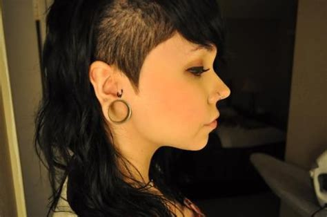 hairstyles on 1 side of head 34 best images about it is possible to have bangs and an