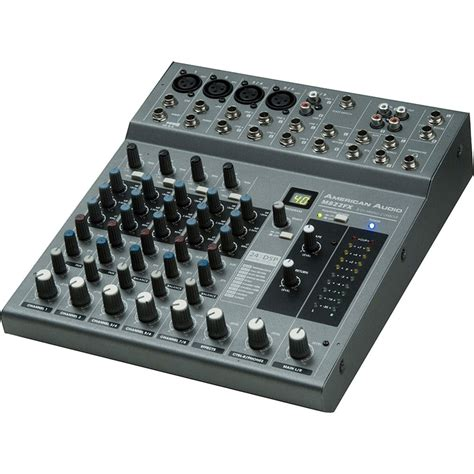 Audio Mixer American Standard american audio mx822fx 5 channel audio mixer m822fx b h photo